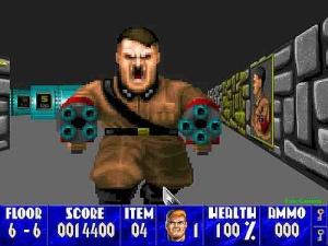 Wolfenstein 3-D Hitler