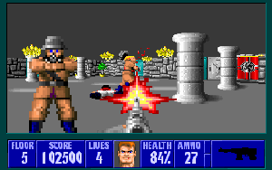 Wolfenstein 3-D Stage