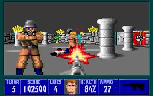 Wolfenstein 3-D Stage